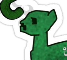 My little Creeper Sticker