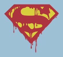 Bloody Superman Logo by Alkasen