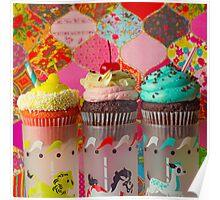 Cirque du Cupcake III Poster