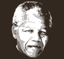 Nelson Mandela - DarkBG by portispolitics