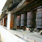 Prayer wheel by sajal maskey