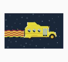Magic Pixel Bus (Sticker) by thom2maro