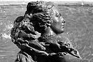 Mermaid, Victoria rooms fountain, Bristol, UK by buttonpresser