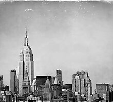 Manhattan Skyline by Fern Blacker
