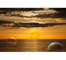 Sea Bubbles Photographic Print