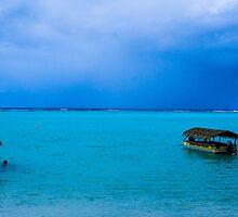 Blue Lagoon, Rarotonga.  by CozSydney