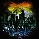stormy city - New - York by frederic levy-hadida