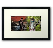 Off With His Head Framed Print