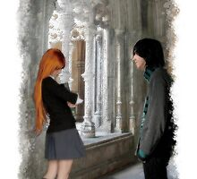 I-phone case~Severus and Lily~ by scatharis