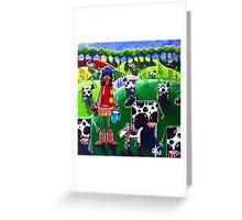 Mow Cow Farm Greeting Card