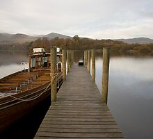 Derwent Water Boat by paulwhittle