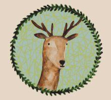 Deer Portrait T-Shirt
