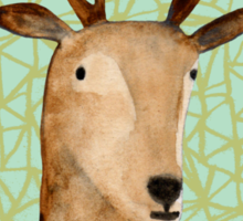 Deer Portrait Sticker