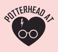 HARRY POTTER - POTTERHEAD AT HEART Kids Clothes