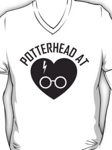 HARRY POTTER - POTTERHEAD AT HEART T-Shirt
