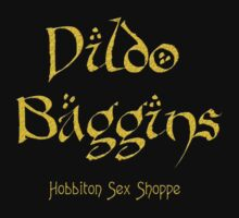 Dildo Baggins Hobbiton Sex Shoppe by bassdmk