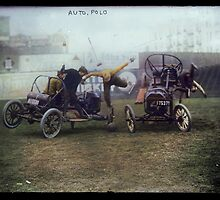 Auto Polo, ca. 1915 by Dana Keller