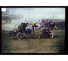 Auto Polo, ca. 1915 Photographic Print