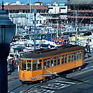 """San Francisco's historic cable car lines"" by Gail Jones"