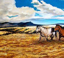 """Prairie Pastures"" by Susan Bergstrom"