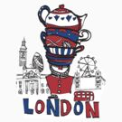 London Teatime by carla zamora