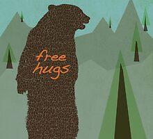 All I Want Is A Bear Hug by modernistdesign