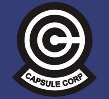 Dragon Ball. Capsule Corp Logo by Chris-Kobra-LA