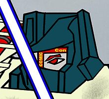 SDCC Eye - On my transformer by DavinciSMURF