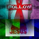 Follow Jesus: iPhone / iPod Case by DonDavisUK