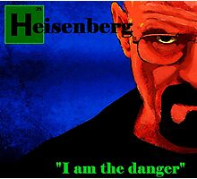 I am the danger. Photographic Print
