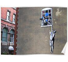 Banksy's a Blast! Poster