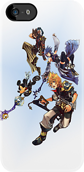Kingdom Hearts Birth By Sleep Characters by mnzero