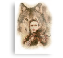 The Young Wolf Metal Print
