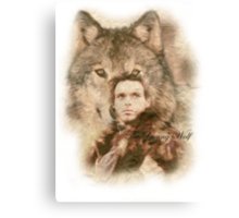 The Young Wolf Canvas Print