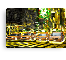 New York 5 Canvas Print
