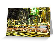 New York 5 Greeting Card