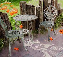 Wild Poppies by Douglas Hunt