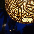Lamp at Night in Thailand by godtomanydevils