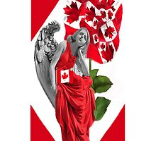 ☀ ツANGEL WATCHING OVER US IPHONE CASE (TRIBUTE TO CANADA) ☀ ツ by ╰⊰✿ℒᵒᶹᵉ Bonita✿⊱╮ Lalonde✿⊱╮
