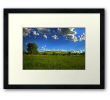 Greene Valley Framed Print