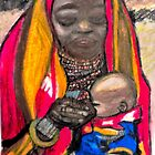 AFRICAN MOTHER AND CHILD by JoAnnHayden
