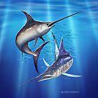 Marlin & Swordfish by David Pearce