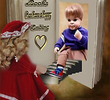 ✾◕‿◕✾BOOKS CAN HAVE A HAPPY ENDING KIDS PICTURE/CARD✾◕‿◕✾ by ╰⊰✿ℒᵒᶹᵉ Bonita✿⊱╮ Lalonde✿⊱╮