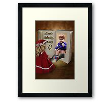 ✾◕‿◕✾BOOKS CAN HAVE A HAPPY ENDING KIDS PICTURE/CARD✾◕‿◕✾ Framed Print