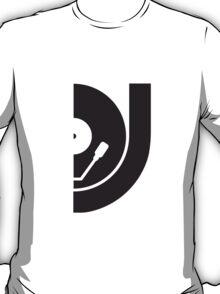 DJ Record Vinyl Plate T-Shirt