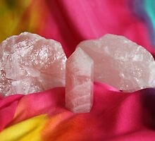 Crystals: Rose Quartz by aussiebushstick