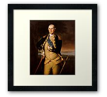 General George Washington Framed Print