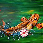 The Crocodile Koi by HiddenCityArt