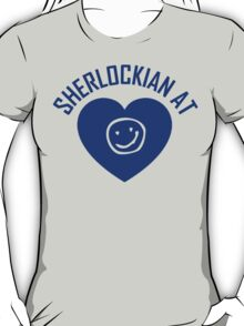 SHERLOCK FAN SHERLOCKIAN AT HEART T-Shirt