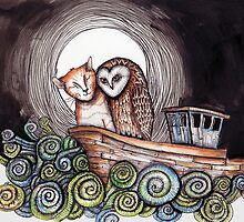 The Owl and the Pussycat by Jenny Wood